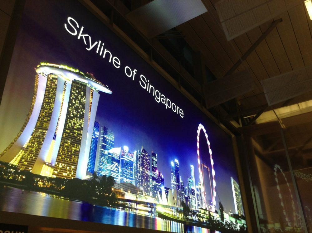 チャンギ国際空港でSingtel社「Hi! Tourist SIM」ツーリストSIMを買ってみた!