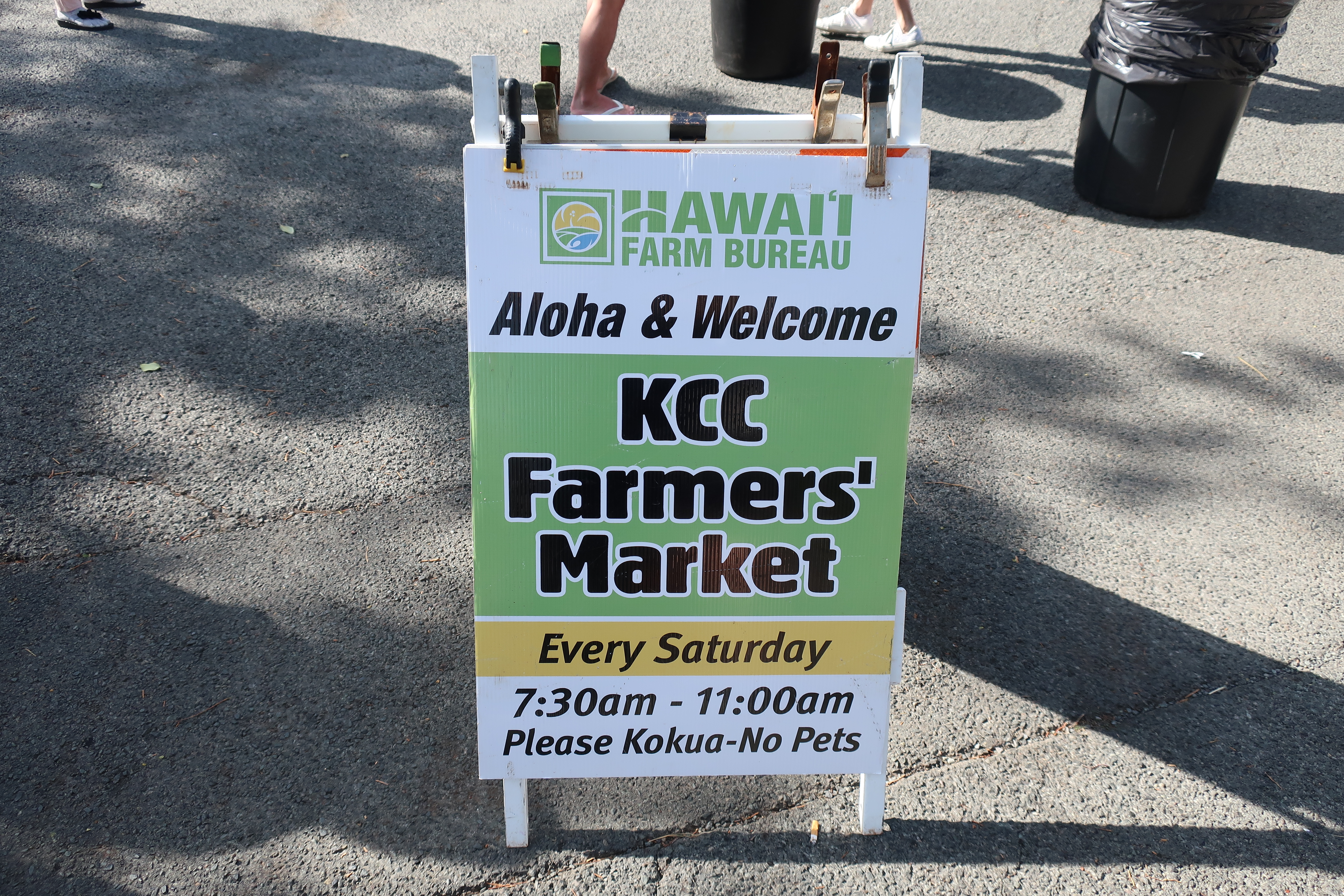 【ハワイ⑧】レアレアトロリーで土曜日限定KCCファーマーズ・マーケットに行ってみよう!