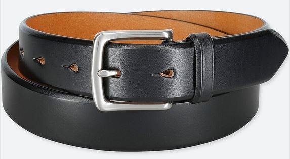 ユニクロのベルトはコスパ最強!?イタリア製レザーを使用したベルトを購入したので紹介!