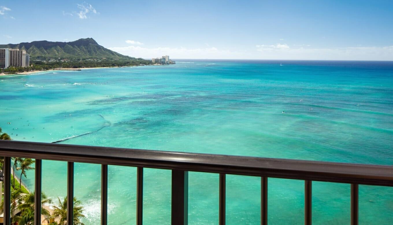 【ハワイ④】シェラトンワイキキオーシャンフロント!バルコニー2タイプを比較